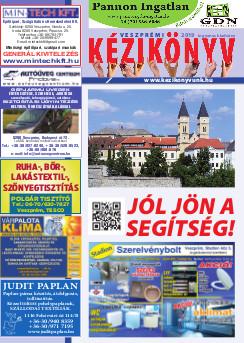 Veszprém és környéke kézikönyve címoldala