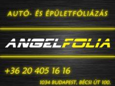 Angelfolia autó-, épület-üvegfóliázás 3. kerület