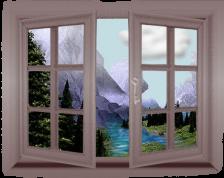 Borz István ajtó ablak Szentendre