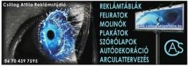 Csillag Attila Reklámstúdió szolgáltatásai