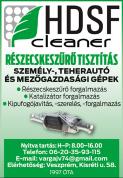 HDSF Cleaner Veszprém