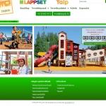 Lappset és interaktív YALP játszóterek akadálymentes honlapja