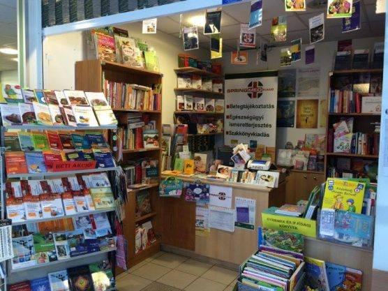 Springmed Könyvsarok 2. kerület egészségügyi ismeretterjesztés